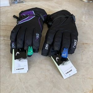 Girl and Boy Head Winter Insulated Gloves